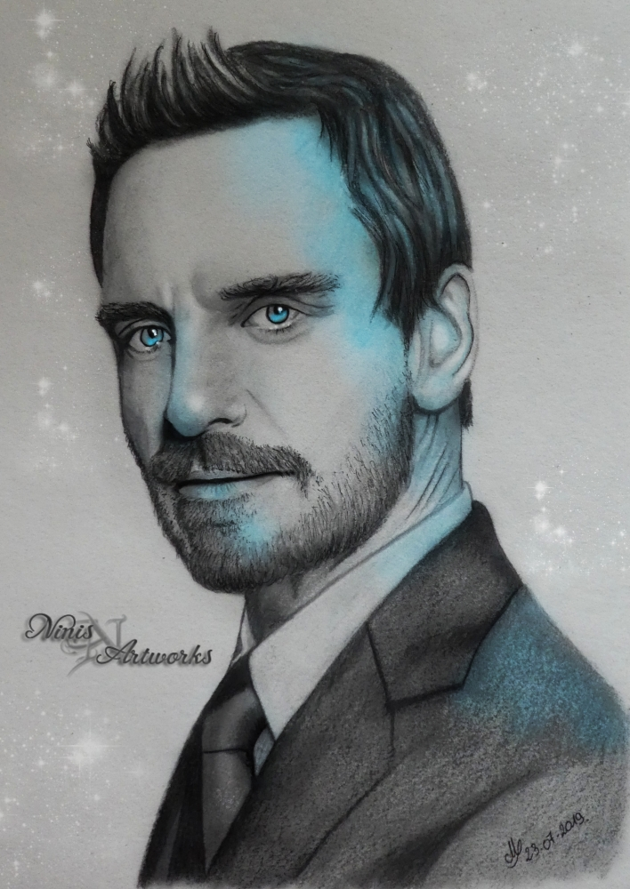 Michael Fassbender by Ninis